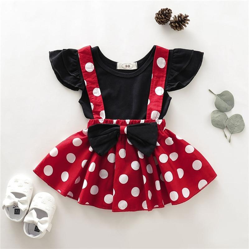 """""""Minnie"""" Polka Dot Suspender Set"""