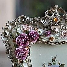 6 Inch Rose Resin Photo Frame