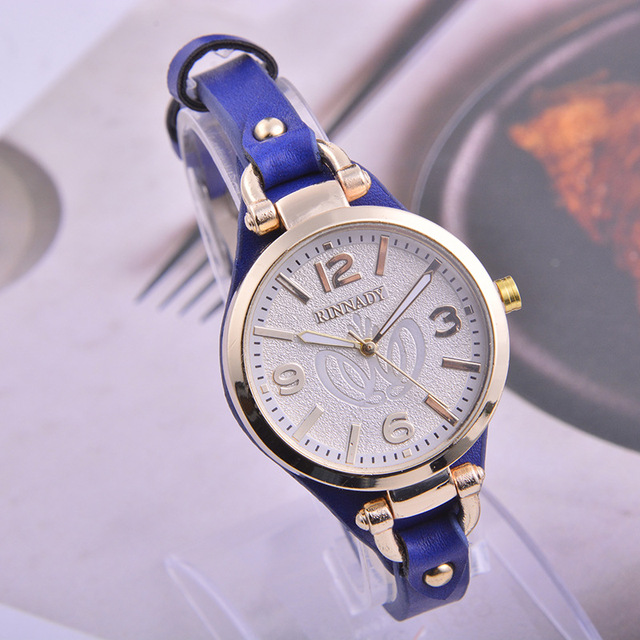 RINNADY 2017 New Fashion Mini Quartz Watch Casual Women Bracelet Watches Reloj M