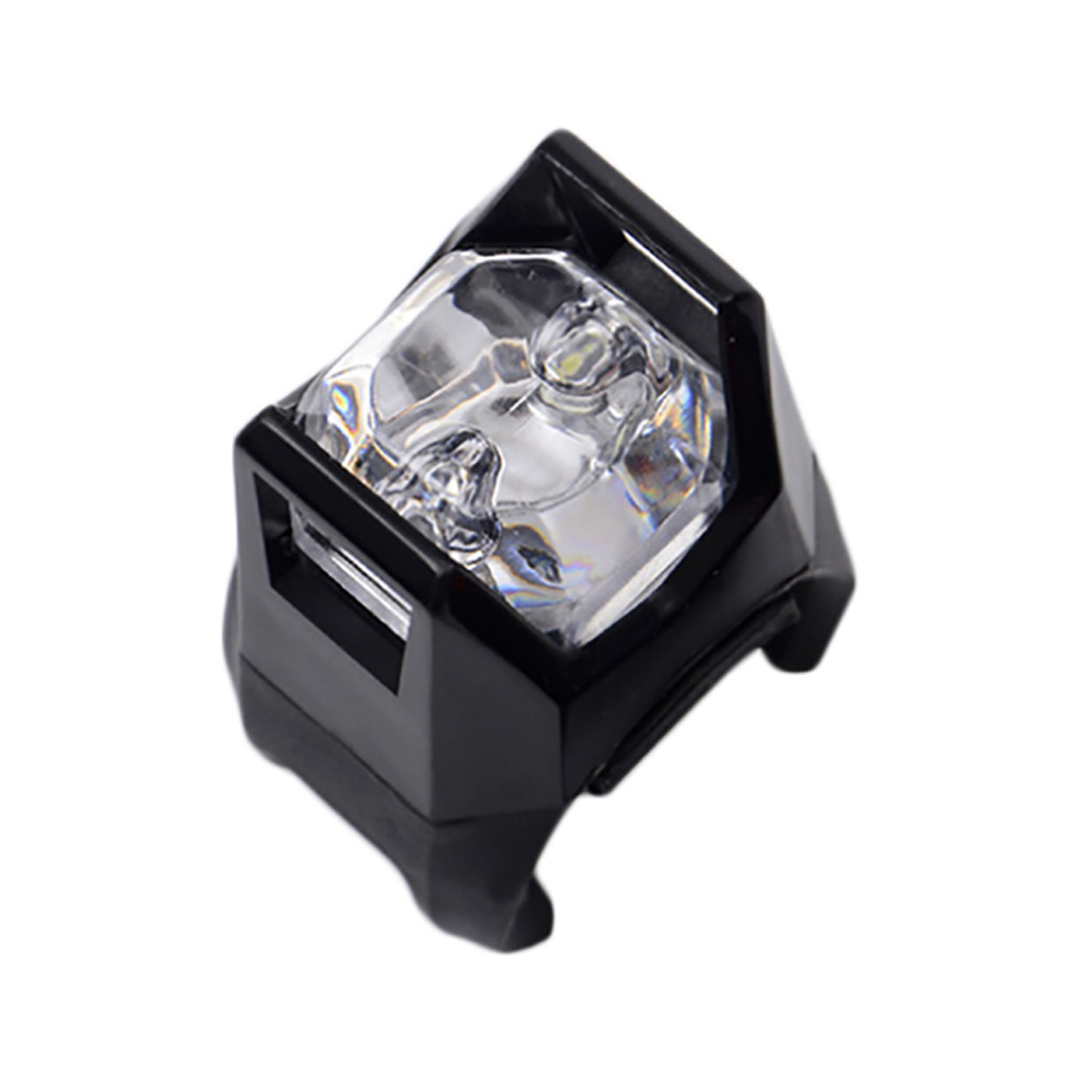 Bicycle Light Usb Rechargeable Tail Light Led  1PC Black Bike Bicycle Cycling Flashing Head Front Wheel LED Flash Light Lamp