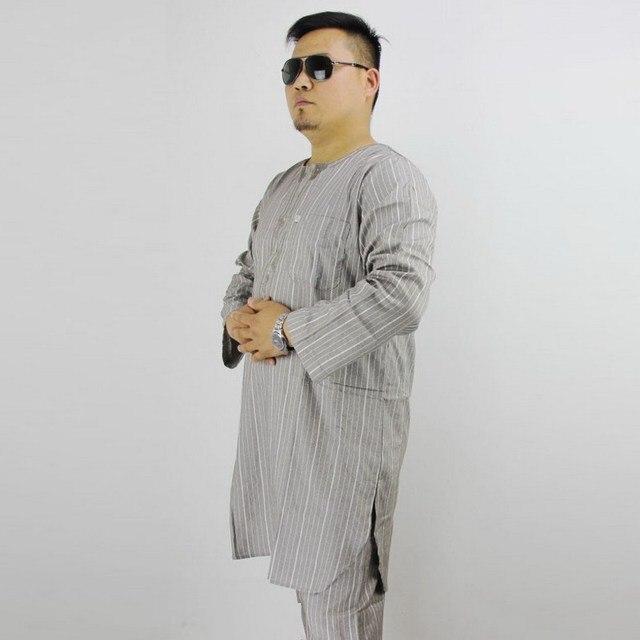 3c4d815d69 Ostatnie islamski odzież mężczyźni TR Pakistańskich męskie Bawełniane i lniane  ubrania kostium dwuczęściowy muzułmańskich mężczyzn paryer