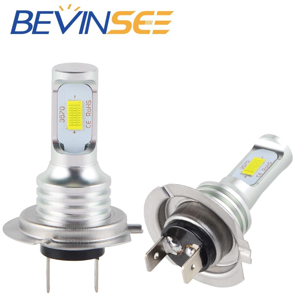 NICECNC 100W/Pair H7 LED Bulbs Motorcycle Headlight Light Lamp For Honda CBR1000RR ABS CBR 1000RR 1000 RR 2004-2014 2015 2016