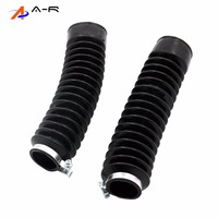 Pair Front Fork Cover Gaiters Gators Boots Shock Protector Absorber Protective Sleeve for YAMAHA XG250 Tricker XG 250 XG-250