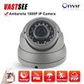 2MP IP camera full HD 1080P POE onvif P2P SONY IMX290 Sensor Ambarella indoor room dome 2.8-12mm varifocal video surveillance