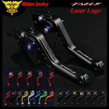 RiderJacky Motorcycle Accessories Short Brake Clutch Levers For Yamaha FZS 600 Fazer FZS600 1998-2003 1999 2000 2001 2002 black motorcycle spike air cleaner kits intake filter fit for honda shadow 600 vlx600 1999 2012 vlx 600 shadow600 2000 2001 2002