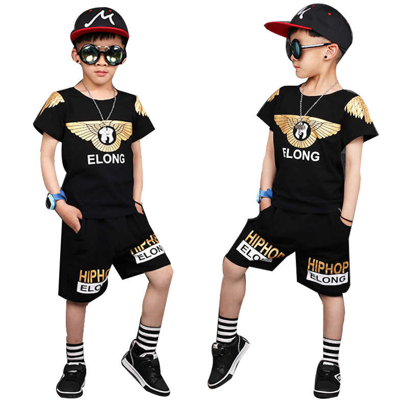 4ae626647 Detail Feedback Questions about 2018 Boys Sets Summer Clothes T ...