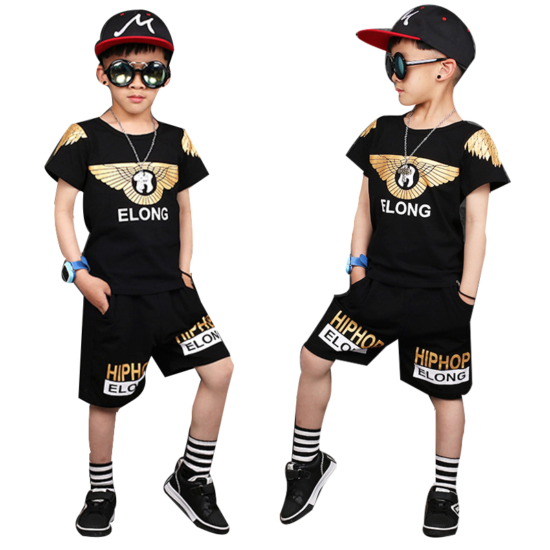 63d25fe61 2018 Boys Sets Summer Clothes T shirt + short Harem Pants cotton sports  printed outfits Children Tracksuit For 4 6 8 10 12 Years - aliexpress.com -  imall. ...