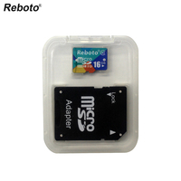 100 Full Capacity Reboto Memory Card 64gb 32gb 16gb 8gb Micro Sd Class10 TF Card Trans