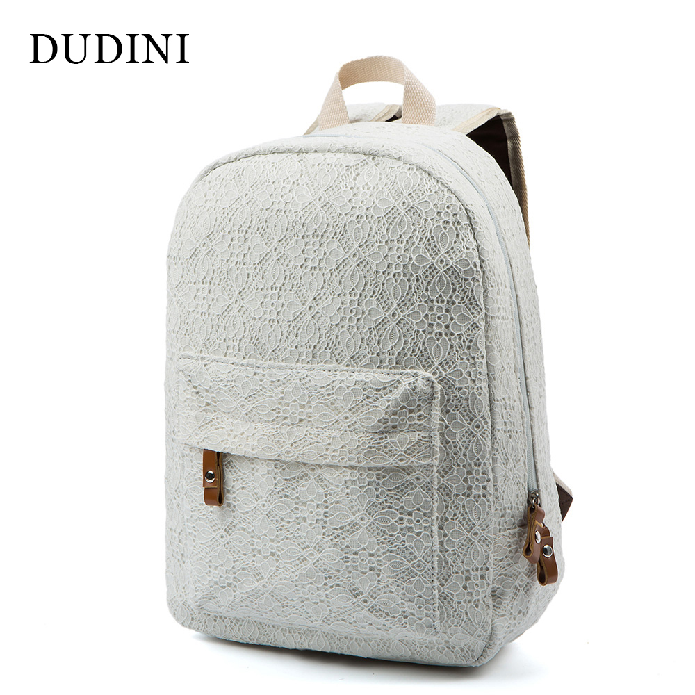 New Arrive Women Lace Backpacks School Bags Travel bags Students Canvas Backpack women Shoulder Bags Campus Bag women canvas stripe shoulder bags casual capcity multifunction backpack students school bags