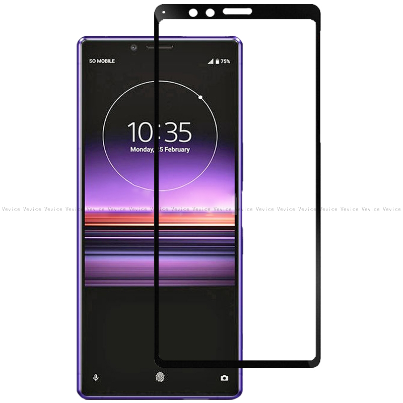 Full Cover Tempered Glass For Sony Xperia XZ4 XA3 10 1 8 5 Screen Protector For Sony L3 L 3 I3312 I4312 I4332 I3322 Protective