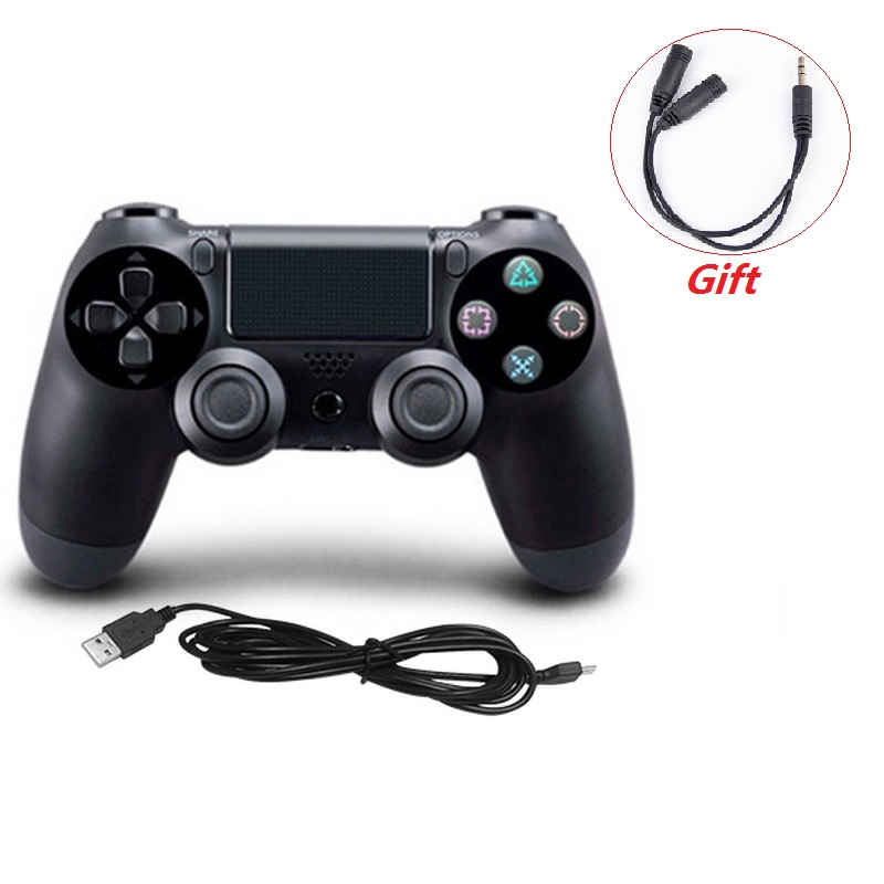 USB Wired Gamepad for PS4 Controller for Sony Playstation 4 PS4 Game Controller Joystick USB for PlayStation 4 Game Pad 1pcs black wireless game gaming bluetooth chatpad message keyboard for sony for playstation 4 for ps4 controller with usb cable