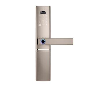 Image 3 - 指紋ドアロック、防水電子ドアロックインテリジェント生体認証ドアロックスマート指紋ロック