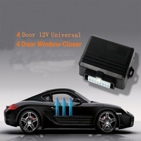 Universal Auto Car Janela Poder Roll up Mais Perto de 4 Portas 12 V Veículo Módulo Do Sistema de Abertura e Fechamento de Teto Solar de Vidro