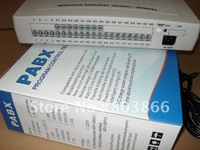 CP424 Telephone PBX Switch System With 4 Lines X 24Extensions Free Shipping