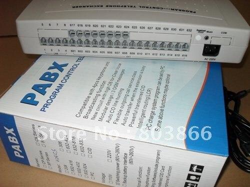 Bilgisayar ve Ofis'ten PBX'de CP424 Telefon PBX/Anahtarı sistemi 4 Satır x 24 Uzantıları title=