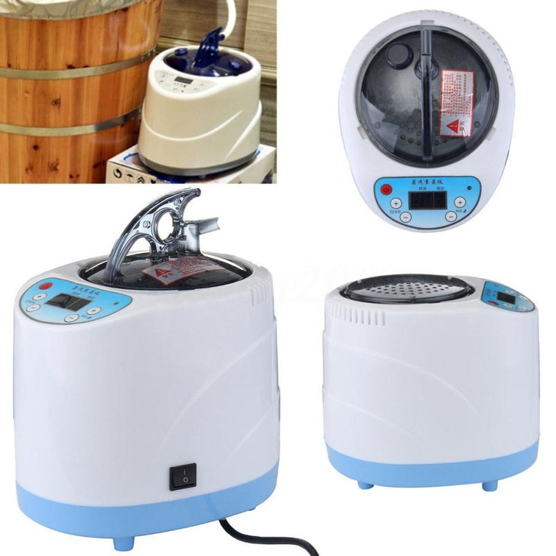 2L Fumigation Machine Maison de Vapeur Vapeur Générateur pour Sauna bain Spa Tente Corps Thérapie Approprié pour fûts, cuisine chauffage