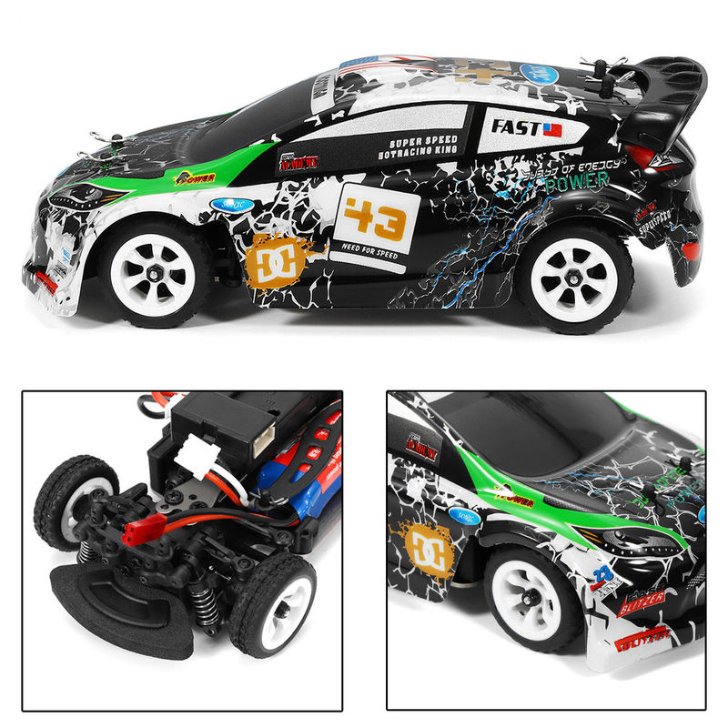 K989 1/28 RC Racing Car 2.4G 4WD Brushed RC Car High Speed Radio Control Car Toy Drift Remote Control Toys for Children