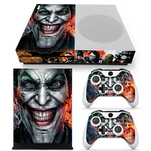 цена на For Joker design game skin sticker for Xboxone S colorful style vinyl decals for XBoxone S