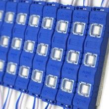 Супер яркий 5730 СВЕТОДИОДНЫЙ модуль 12 В Модуль литья под давлением прозрачные линзы белый теплый белый красный зеленый синий желтый розовый освещение 60 шт
