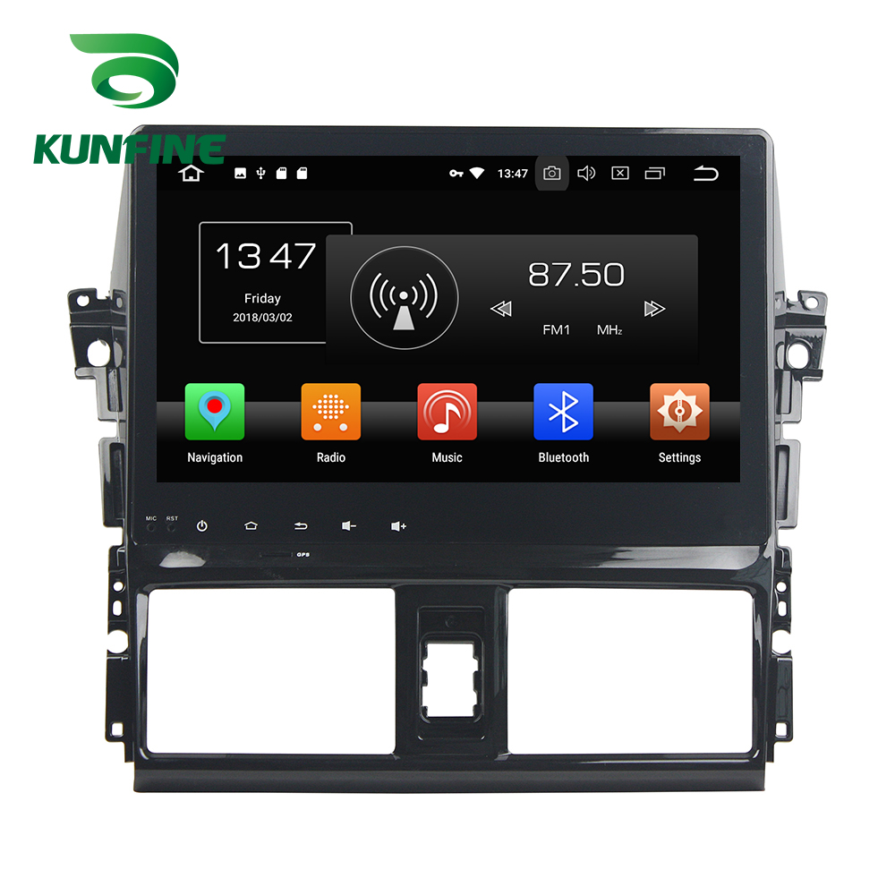 Octa Core 4GB RAM Android 8.0 Car DVD GPS Navigation Multimedia Player Car Stereo Deckless For TOYOTA VIOS YARIS 2013-15 Radio octa core 4gb ram android 8 0 car dvd gps navigation multimedia player car stereo for bmw mini cooper after 2006 2013 radio