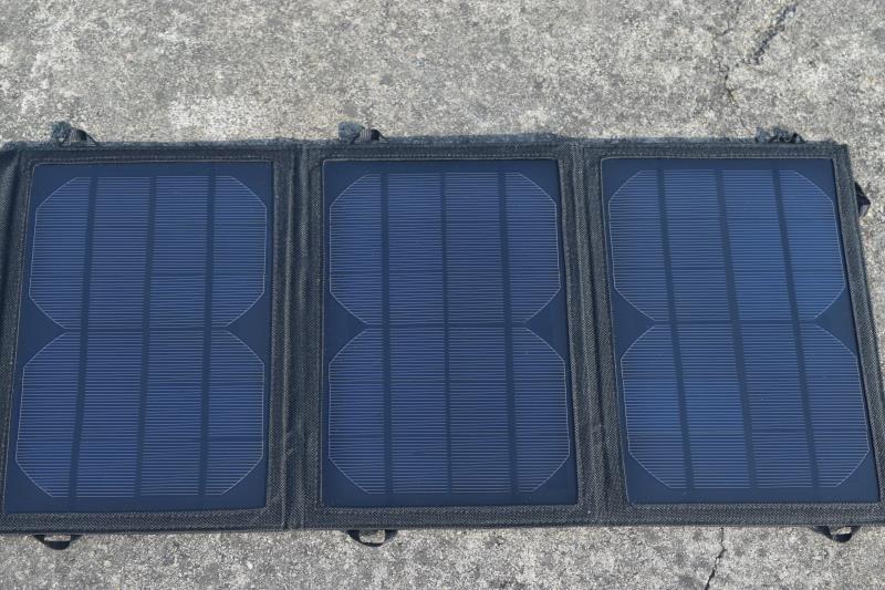 Xingpuguang 8W 5V solar panel charger 3 Folds black light Portable durable Solar battery for USB Power Bank Solar cells