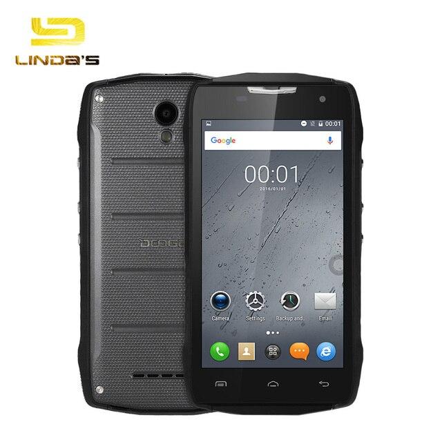 DOOGEE T5S DOOGEE T5 lite Android 6.0 5.0'' 4G Smartphone MTK6735 Quad Core 1.0GHz 2GB 16GB Bluetooth 4.0 Waterproof Smartphone