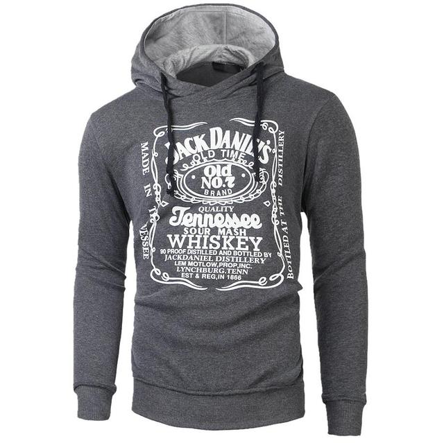 Dark gray hoodie