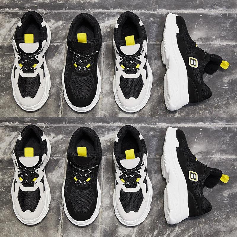Jookrrix 2018 Autumn Girl Fashion Brand Real Leather Lady Casual Shoes Women Sneaker Leisure Heighten Platform Shoe Cross-tied