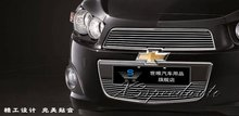 Pour Chevrolet Aveo 2011 2012 2013 Grill Grille Avant Racing Couverture Haute Qualité Nouveau En Alliage D'aluminium 2 PCS