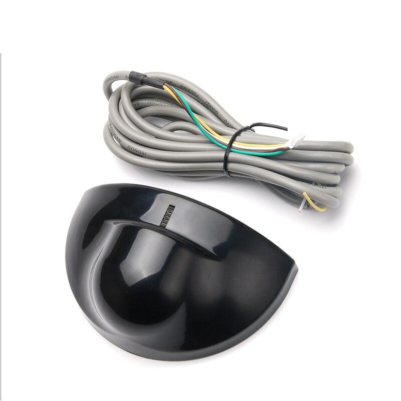 Detector de infrarrojos de salida de sensor de movimiento PIR 12-24V Sensor de movimiento de microondas con cable universal Sensor para apertura autom/ática de control de acceso a la puerta
