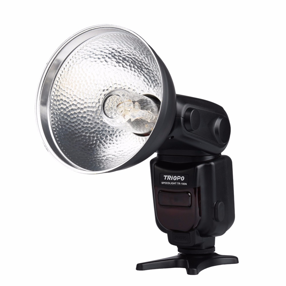 TRIOPO TR-180C E-TTL Bare Bulb Bounce & Swivel Auto Flash Speedlite with Reflector for Canon EOS 7D Mark II 5DIII 6D 70D 60D new lp e6 2650mah 7 2v digital replacement camera battery for canon eos 5d mark ii 2 iii 3 6d 7d 60d 60da 70d 80d dslr eos 5ds