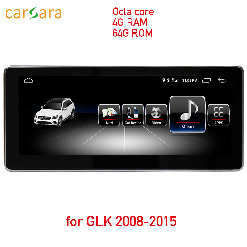4G RAM 64G ROM Android touch screen for GLK X204 2008 to 2015 10 25 display