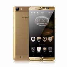 Gfive L3 5.5 »Мобильный Телефон Android 6.0 5000 мАч MT6580M Quad Core смартфон 2 ГБ RAM 16 ГБ ROM Двойная Камера Sim GPS FM Мобильного Телефона