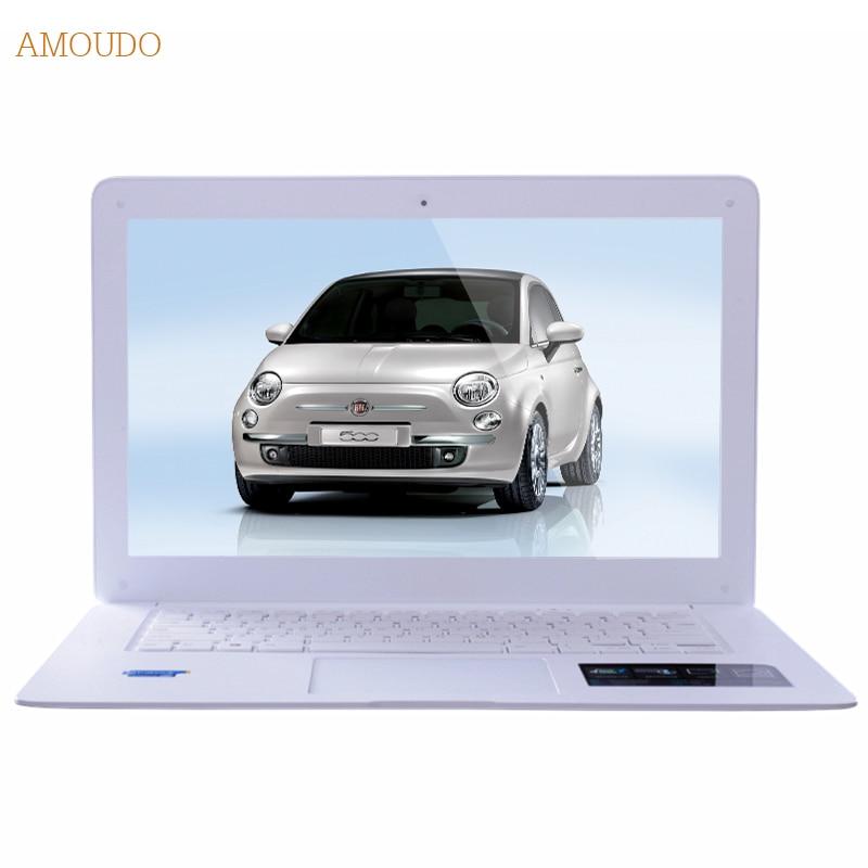 Amoudo-6C Plus 14inch Intel Core i7-4th Generation CPU 4GB+240GB+1TB Windows 7/10 System 1920x1080P FHD Laptop Notebook Computer