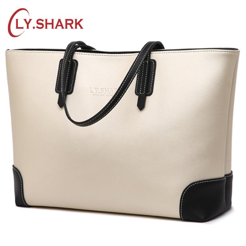 LY.SHARK Women's Handbags Ladies' Genuine Leather Handbag Crossbody Bags For Women Female Messenger Bags Shoulder Bag Women