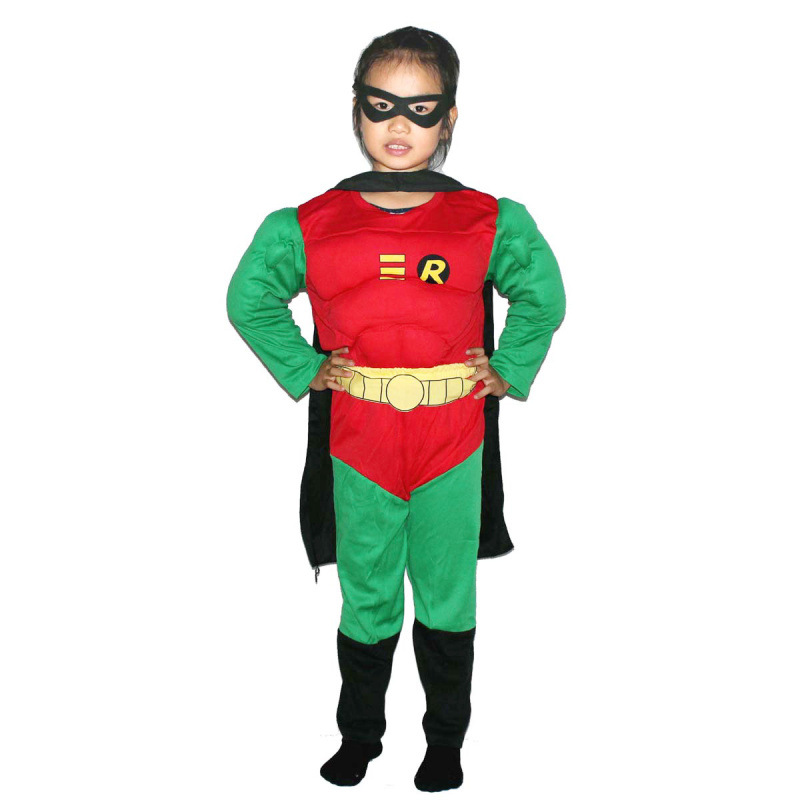 Cosplay Children Thickening Muscle type Robin Costumes Clothing, suit, 277g аксессуары для косплея cosplay