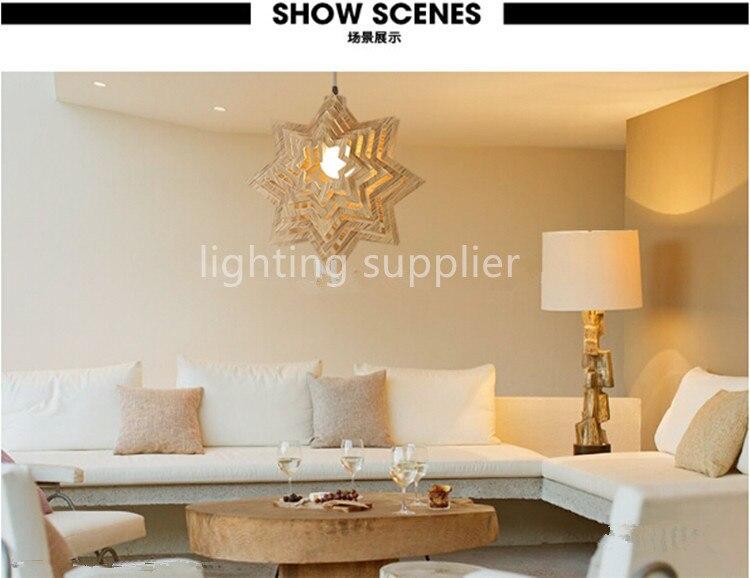 100% Wahr Moderne Lampen Pendelleuchten Holz Lampe Restaurant Bar Kaffee Esszimmer Led Hängeleuchte