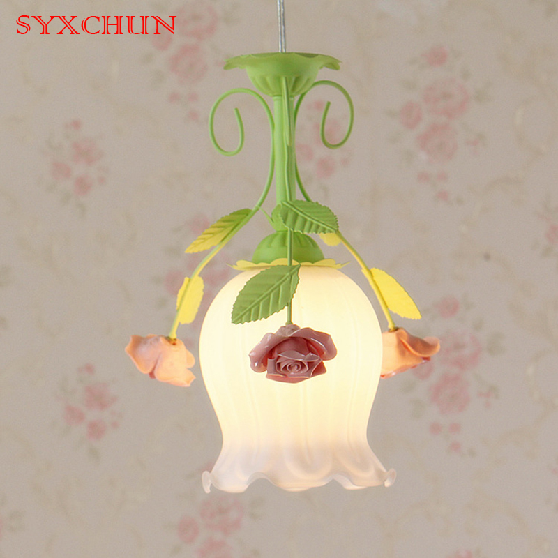 syxchun Three head Restaurant Chandelier Personality Corridor Aisle Balcony Korean Garden Bedroom warm Modern Minimalist Bar