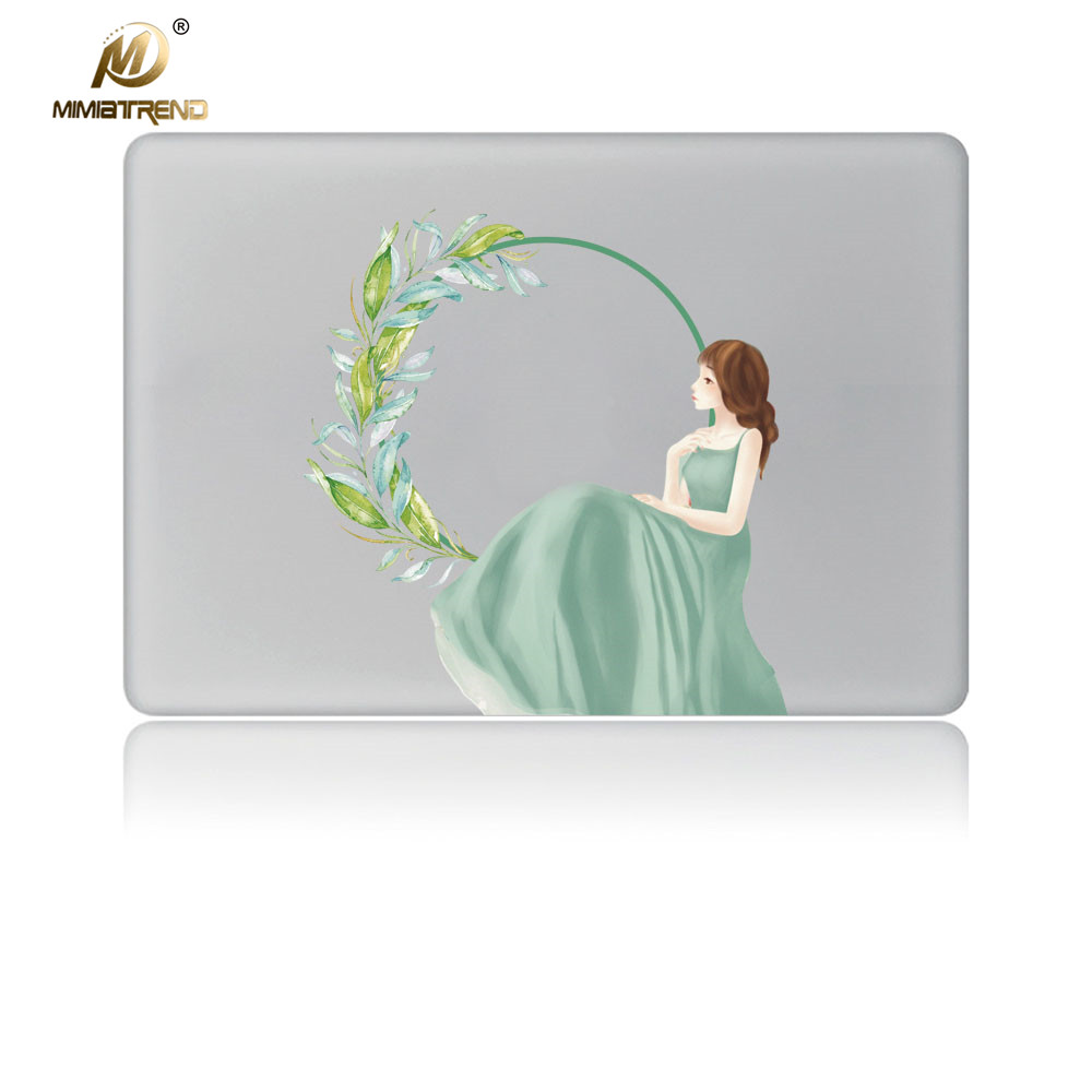 Mimiatrend Laptop Stickers for Apple Macbook Pro Air 11 12 13 15 Inch Cartoon Vinyl Notebook Skin