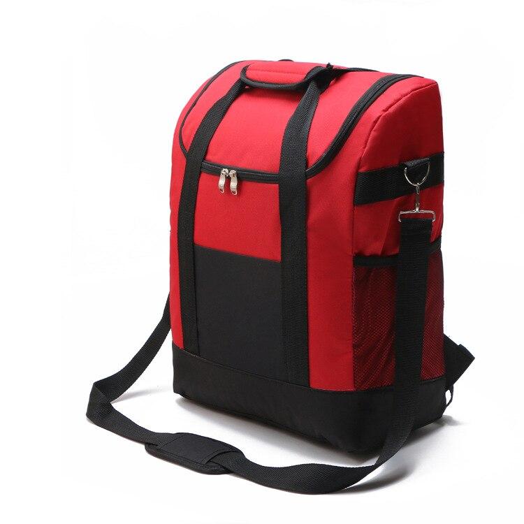 Gut 2017 Neue Kühltasche Handtasche Isolierung Mittagessen Tasche Picknick Box Obst Snacks Eis Packung Lebensmittel Lagerung Kühlen Taschen Kühler Schulter Tasche