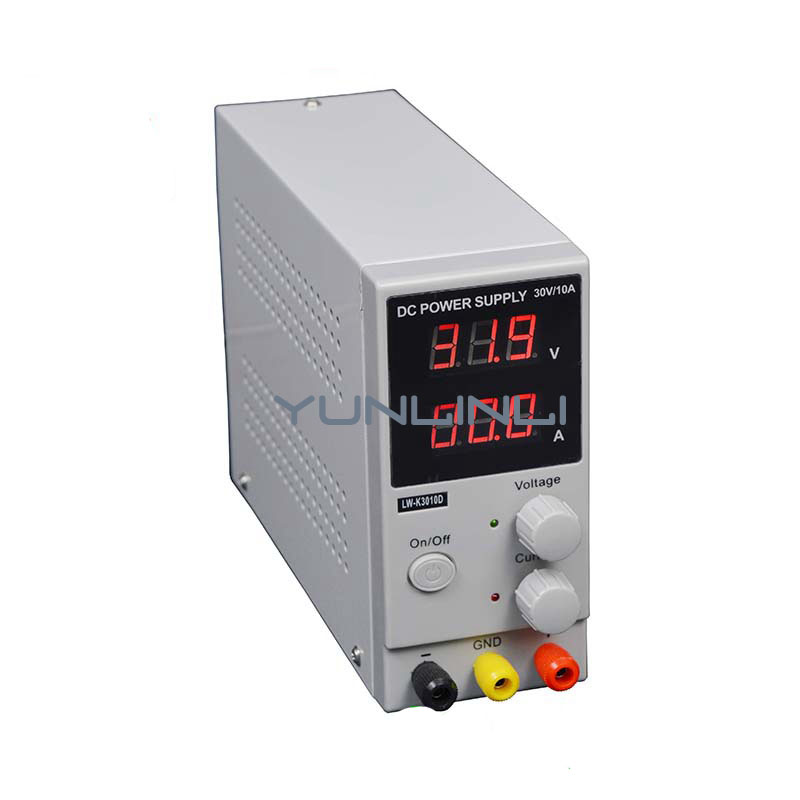30V 10A LED Display Adjustable DC Power Supply Single Phase High Precison DC Regulated Power Supply Repair Rework LW-K3010D 1200w wanptek kps3040d high precision adjustable display dc power supply 0 30v 0 40a high power switching power supply