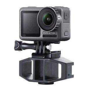 Image 3 - VIJIM GP 1 GoPro Vlogging Stand Bracket 2 Cold Shoe Mount 1/4 Screw for GoPro Hero 7 6 5 SJcam DJI Osmo Action Sport Cameras