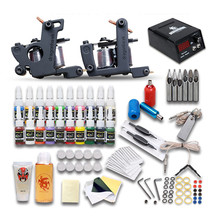 Tattoo Machine Kit Set Full Set Of DIY Tattoo Equipment Body Paint