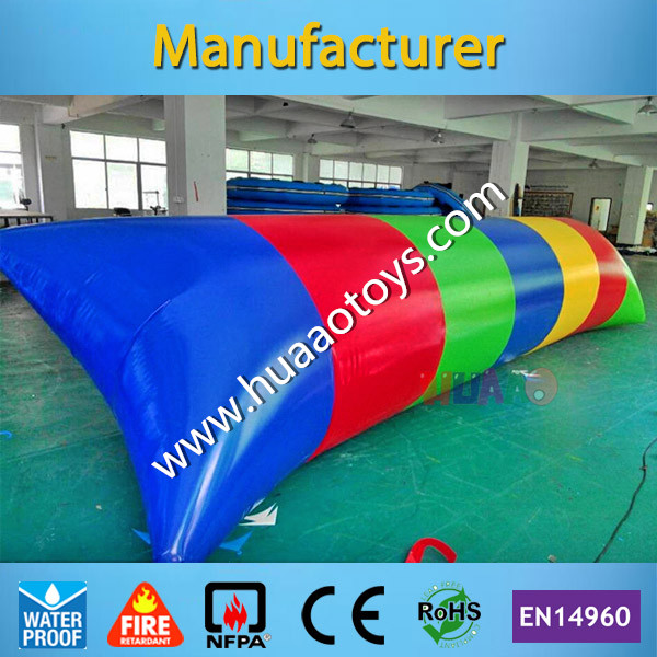Free Shipping Water Pillow Water Catapult Blob Water Blob Jump Inflatable Water Blob for Sale free shipping 6 2m 0 9mm pvc inflatable trampoline water pillo water blob jump inflatable jumping jump bed on water