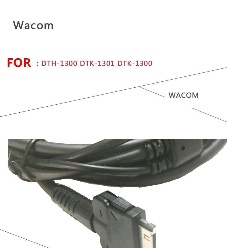 Wacom Original Cintiq 13HD DTK 1300 DTK 1301 DTH 1300 3 in 1 Data Cable