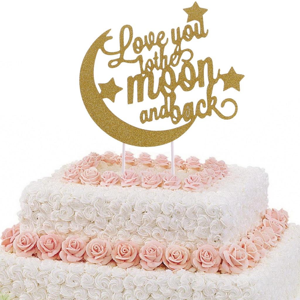 Hot Sale Mr /& Mrs Cake Wedding Engagement Bride Groom Party Top Decoration US