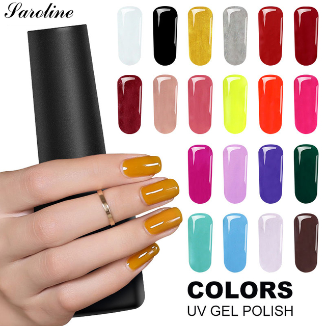 Saroline Lucky 29 Цвет UV гель лак для ногтей Soak Off 8 мл полу постоянный ногтей гель лак Маникюр обычные гель лак для ногтей