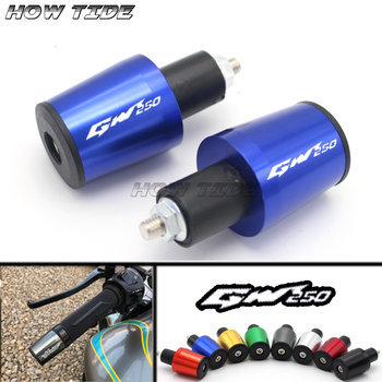 Motorcycle Accessories 7/8'' 22MM Handlebar Grips Handle Bar Cap End Plugs For SUZUKI GW 250 INAZUMA GW250 2011-2013 image