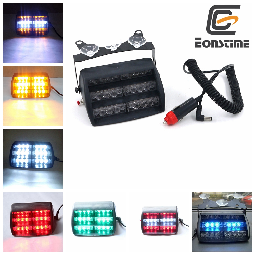 Eonstime 18 LED Emergency Vehicle Strobe Lights