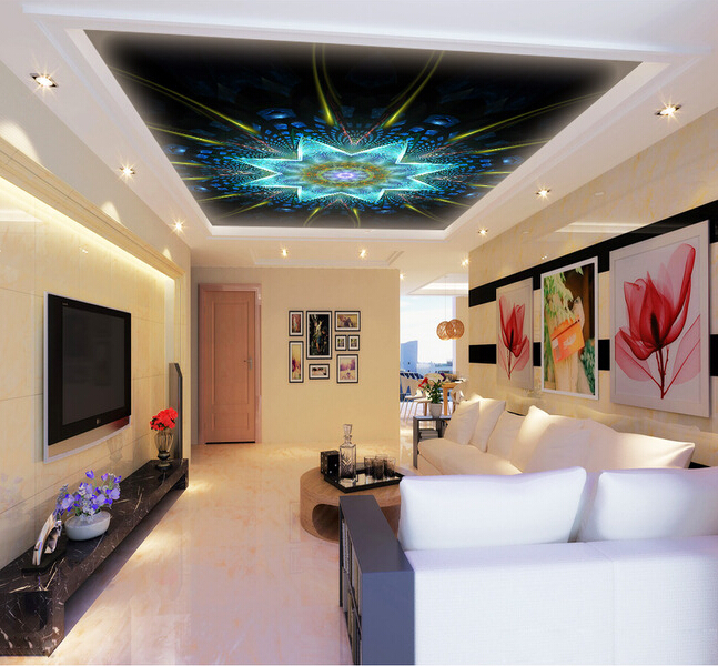 Online buy wholesale textured ceilings from china textured for 3d ceiling paper